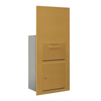 H3600 Series Wall Mount Collection Box Units for Horizontal Mailboxes (USPS Approved)