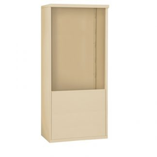 Free-Standing Mail Stand Enclosures for 4C Horizontal Mailboxes - USPS Approved