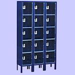 Box Type See Through Lockers