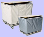 Mail Hampers – Wood Covered Lockable Type