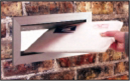 Letter Drop Mailbox Slot Commercial And Residential