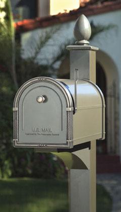 Decorative Posts for Coronado Type Mailboxes