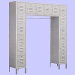 Box Type Bridge Lockers