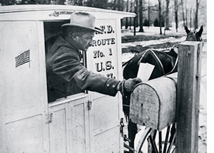 History of Mail Service and Mailboxes - NationalMailboxes ...